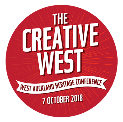 "West Heritage Conference Logo 2018, ""The Creative West"""